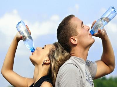 Drink more water in summer